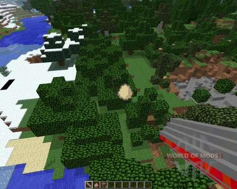 Explosive Chickens [1.6.4] für Minecraft