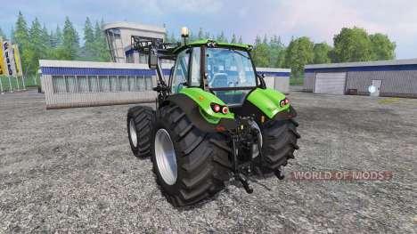 Deutz-Fahr Agrotron 7250 Forest King v2.0 green pour Farming Simulator 2015