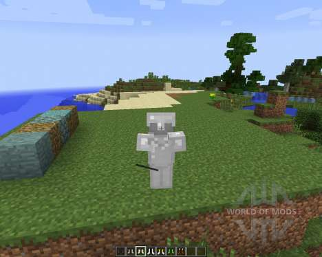 Mo Boots [1.7.2] pour Minecraft