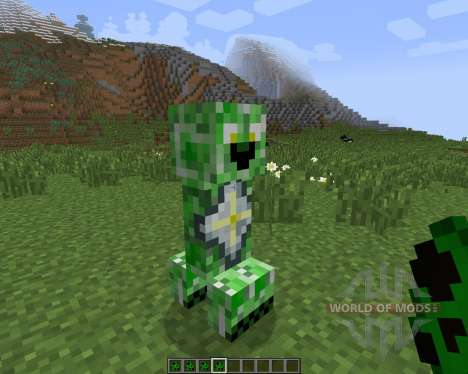 Creeper Species [1.7.2] pour Minecraft