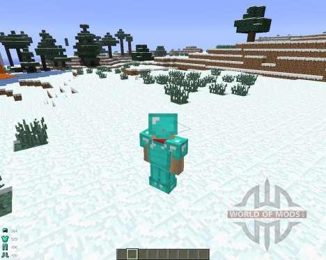 ArmorStatusHUD [1.6.4] pour Minecraft