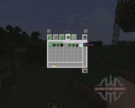 Emerald [1.7.2] pour Minecraft