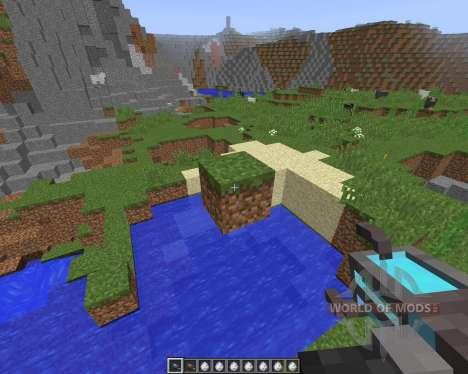Gravity Gun [1.8] für Minecraft