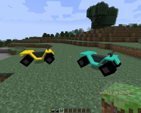 All-terrain Vehicle (ATV) [1.7.2] für Minecraft