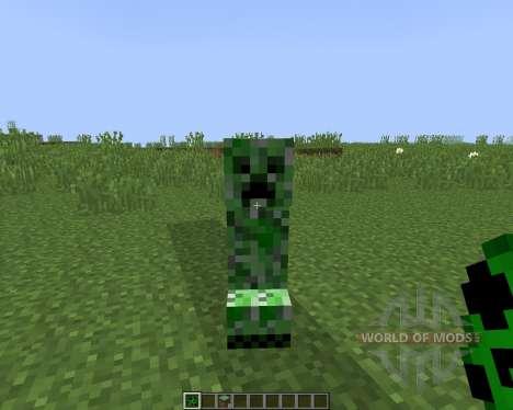 NoCreeperExplosions [1.8] pour Minecraft