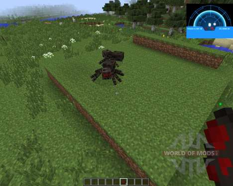 Aliens Motion Tracker [1.7.2] pour Minecraft