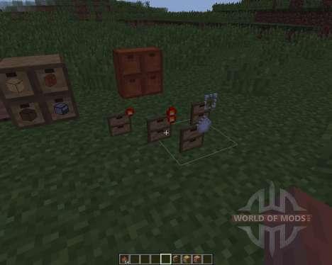 Storage Drawers [1.8] für Minecraft