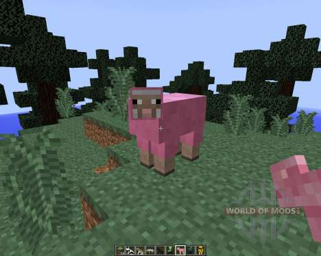 Craftable Animals [1.8] für Minecraft
