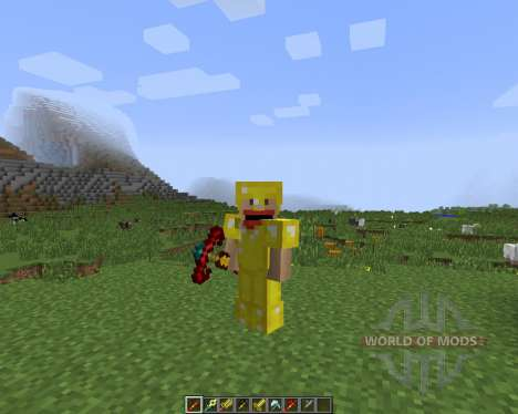 CST7 Weapons [1.7.2] für Minecraft