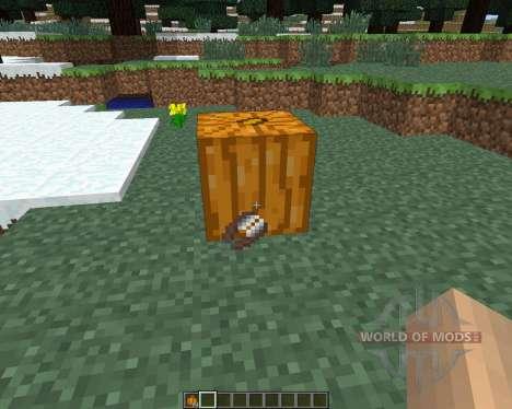 Pumpkin Carvier [1.6.4] pour Minecraft