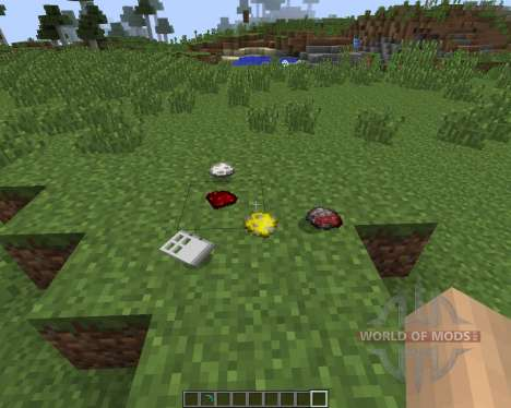 Item Drop Physics [1.7.2] pour Minecraft