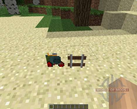 Rails of War Mod [1.5.2] pour Minecraft