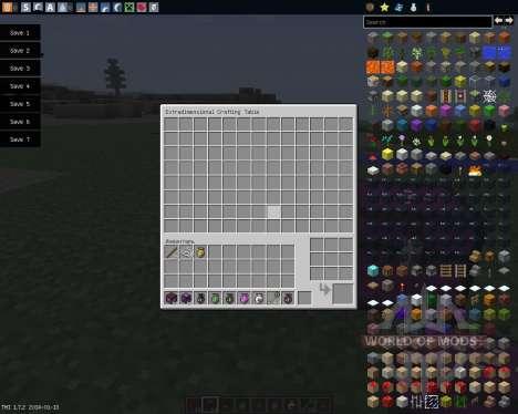 Extradimensional Item Storage [1.7.2] für Minecraft