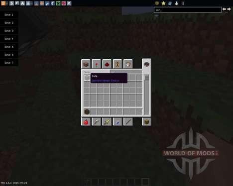 Safe [1.6.4] pour Minecraft