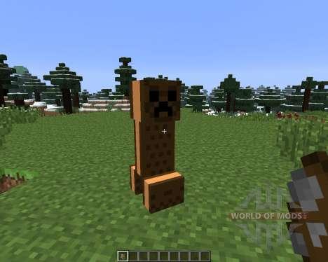 Ice Cream Sandwich Creeper [1.6.x] für Minecraft