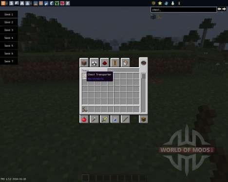 Chest Transporter [1.7.2] für Minecraft