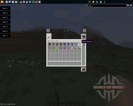 Wall Painter [1.7.2] pour Minecraft