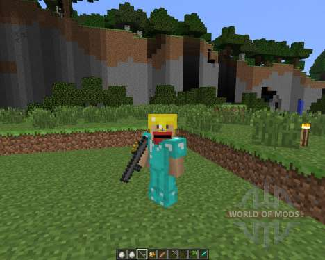 Potato Gun [1.6.4] für Minecraft