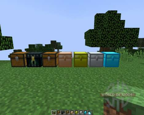 Iron Chests [1.8] pour Minecraft