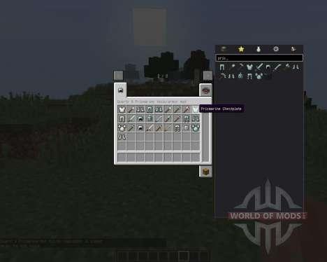 Quartz and Prismarine ArmorTools pour Minecraft