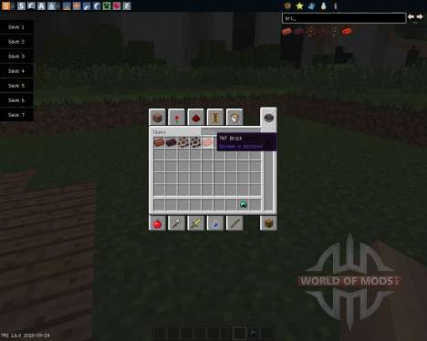 Throwable Bricks [1.6.4] pour Minecraft