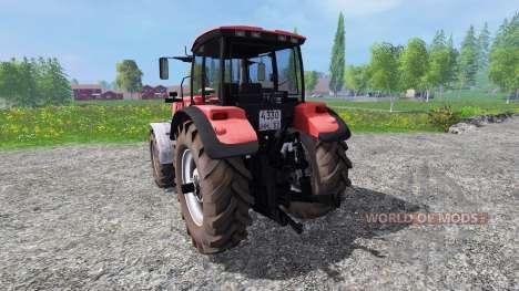 Biélorussie-3022 DC.1 pour Farming Simulator 2015