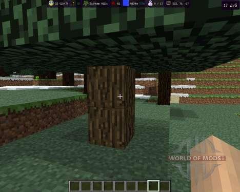 MoreInfo für Minecraft