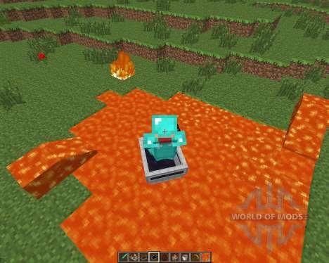 LavaBoat [1.6.4] pour Minecraft