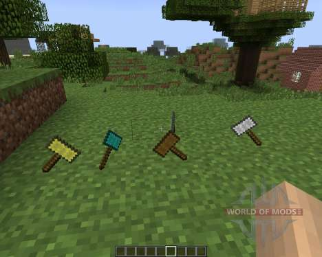 Hammers [1.7.2] pour Minecraft