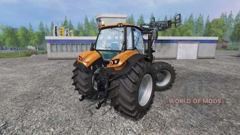 Deutz-Fahr Agrotron 7250 Forest King v2.0 orange pour Farming Simulator 2015