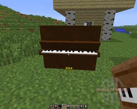 MusicCraft [1.6.4] pour Minecraft