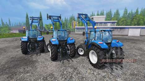 New Holland T5 [pack] für Farming Simulator 2015