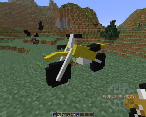 The Dirtbike [1.6.4] pour Minecraft