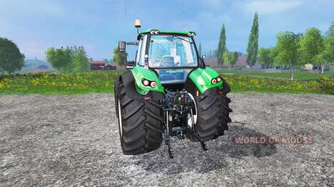 Deutz-Fahr Agrotron 7250 single wheels v1.3 für Farming Simulator 2015