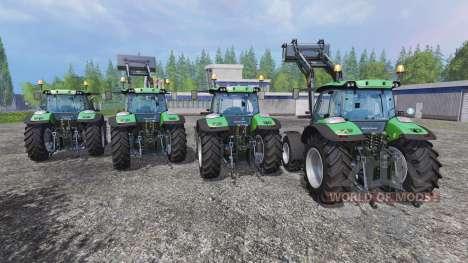 Deutz-Fahr 5110 TTV and 5130 TTV pour Farming Simulator 2015