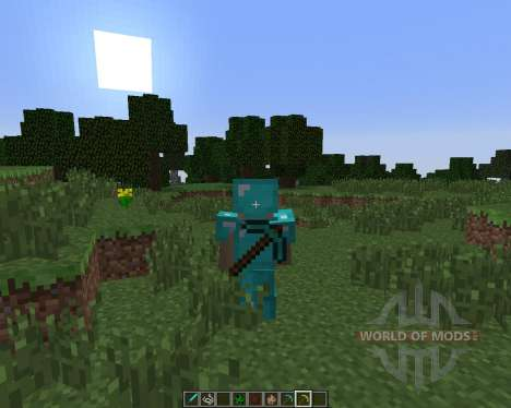 Back Tools [1.6.4] pour Minecraft