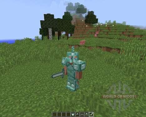 Quartz and Prismarine ArmorTools für Minecraft