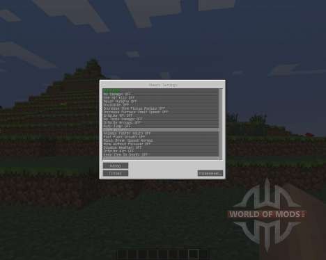 CJB Cheats [1.6.4] pour Minecraft