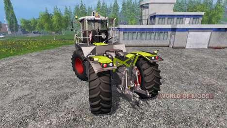 CLAAS Xerion 3800 Saddle Trac pour Farming Simulator 2015