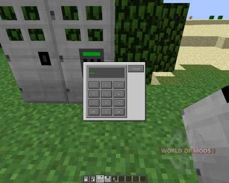 Key and Code Lock [1.6.4] für Minecraft