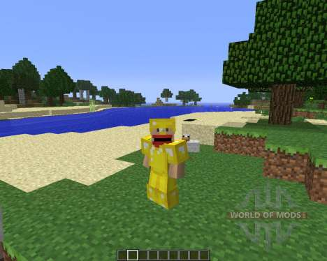 Animated Player [1.6.4] pour Minecraft