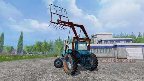 MTZ-80 Chargeur pour Farming Simulator 2015