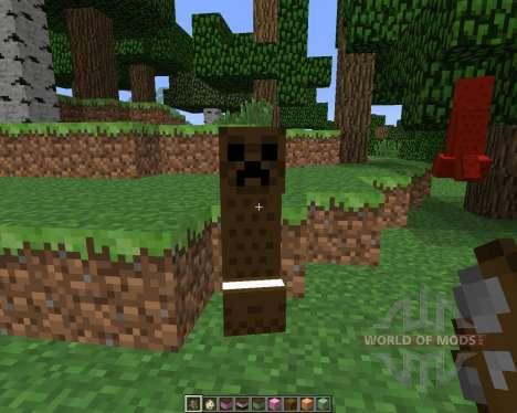 The Ice Cream Sandwich Creeper [1.5.2] pour Minecraft