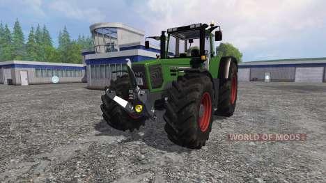 Fendt Favorit 824 Turboshift Full pour Farming Simulator 2015