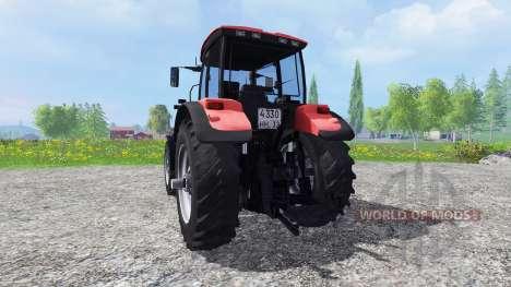 Biélorussie-3022 DC.1 avec roues jumelées pour Farming Simulator 2015