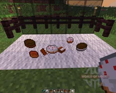 Pastries [1.7.10] für Minecraft
