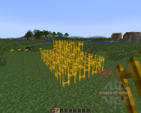 Golden Bars [1.7.10] für Minecraft
