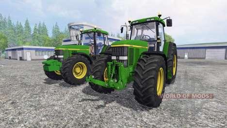 John Deere 7810 [pack] pour Farming Simulator 2015