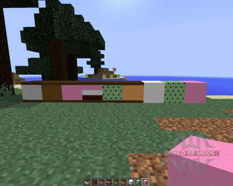 The Ice Cream Sandwich Creeper [1.8] für Minecraft
