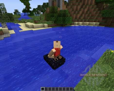 Obsidian Boat [1.7.2] für Minecraft